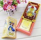 NEW Cardcaptor Sakura 52 cards with boxes Captor Sakura Clow Cards Cosplay @#