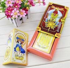NEW Cardcaptor Sakura 52 cards with boxes Captor Sakura Clow Cards Cosplay R