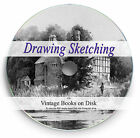 Rare Drawing Sketching Books on DVD How to Draw Ink Pen Pencil Art Artist Pad 76