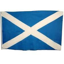 Scotland Flag 3'x5' Cloth,Burns Night,World Cup Football Supporter,Prop,Scottish