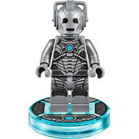 LEGO Doctor Who - Original - Cyberman Minifig w/ Stand - New