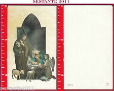 2349 SANTINO HOLY CARD NATIVITà GESù BAMBINO FRATELLI BONELLA 40-I N. 2