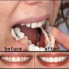 Set Upper & Lower Magic Teeth Brace Temporary Smile Comfort Fit Cosmetic Denture