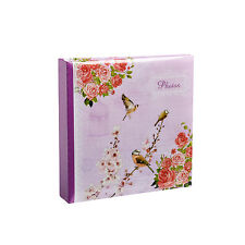 Purple Vintage Bird Cage Shabby Chic Style 200  Photo Album Slip Case  - 200CP