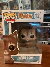 Pop Pets Main Coon 12 Funko Pop Vinyl EXPERT PACKAGING