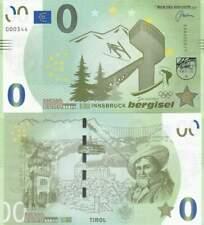Biljet billet zero 0 Euro Memo - Innsbruck Bergisel (009)
