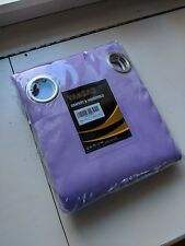 Set of 2 Vangao Purple Lilac Blackout Curtains Room Darkening 63 length
