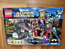 LEGO 6857 DC COMICS BATMAN THE DYNAMIC DUO FUNHOUSE ESCAPE JOKER ROBIN Harlequin