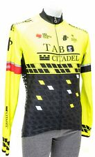 Hincapie Holowesko Pro Team Long Slv Thermal Jersey Men SMALL Hi Vis Yellow Bike