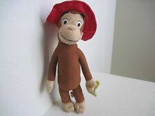 "14"" Curious George RED HAT MONKEY Plush Stuffed Animal"