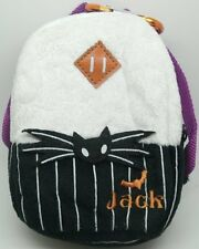 Nightmare Before Christmas Plush Zip Up Pouch Mini Backpack Doll Soft Toy figure