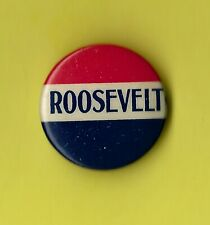 """1932 Franklin D Roosevelt 7/8"""" / Presidential Campaign Button"""