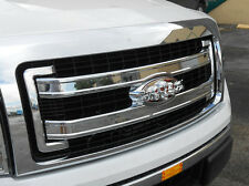 FORD F150 GRILLE LOGO EMBLEM CHROME TRIM ORIGINAL REPLACEMENT 2004-2014