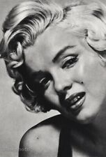 1950s Vintage Marilyn Monroe By Philippe Halsman Movie Actress Photo Gravure Art
