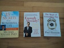 3 Life Improvement Books Michael Youssef Enough Already Magic of Groundhog Day