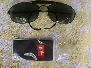 RAY BAN 1994/96 62[]18 OLYMPIC GAMES WIRE WRAP SUNGLASSES Gunmetal black frame