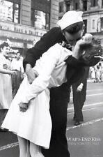 Kissing On VJ Day Poster Print Wall Art Nurse Kissing Sailor War's End Kiss