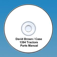 David Brown / Case 1394 Tractors  Parts Manual PDF CD