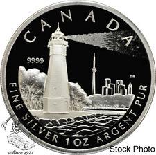 Canada 2005 $20 Toronto Island Lighthouse Silver Coin