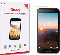 6X Dooqi HD Clear LCD Screen Protector Shield Guard Saver For Alcatel A30 Fierce
