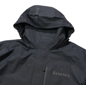 Simms Challenger Jacket Shell Black - Black - Size L