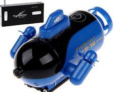 RC Micro SUBMARINE Mini Rc U-Boat Radio Control SUBMARINE -BLUE-