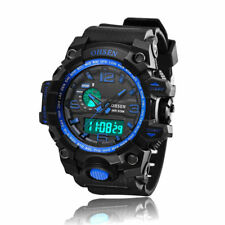 Mens Military Digital G Light Sport Chronograph Water Proof Shock Watch