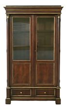 50234Ec: Hickory Chair Co Empire Design Mahogany Display Cabinet