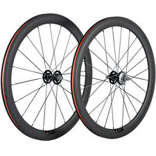 50mm Clincher Carbon Wheelset Track Bike Wheel Fixed Gear Bicycle Carbon Wheels