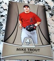 MIKE TROUT 2010 Bowman Platinum Rookie Card RC HOT Los Angeles Angels ROY AS MVP