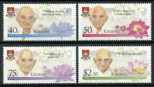 Kiribati 2019 MNH Mahatma Gandhi 4v Set Historical Figures Famous People Stamps