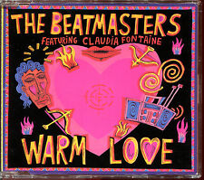THE BEATMASTERS FEATURING CLAUDIA FONTAINE - WARM LOVE - 3 INCH CD MAXI [2353]