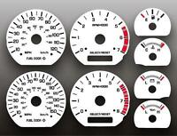 1999-2004 Ford Mustang 35th Anniversary Instrument Cluster White Face Gauges