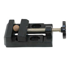 Mini Portable Tool Drill Press Precision Bench Vise Flat Clamp-on Table Vise