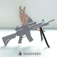 Tactical ABS Bipode Bi Pod Pistola Stand Cecchino Riposo Bb Airsoft Soft Air Rifle