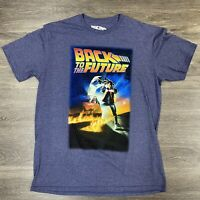 Back To The Future Poster T Shirt Large OFFICIAL Marty McFly