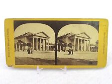 Vintage Stereoview Stereoscope Card Cursaal Kursaal At Weisbaden Germany