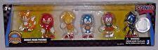 Sonic Hedgehog MISP SEGA MINI FIGURE Classic Collector's 6 pc Set TRU EXCLUSIVE