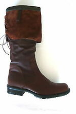 "Wittner 0 to 1/2"" Flat Boots for Women"