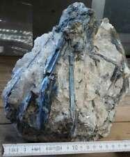Cyanit Stufe 9,48 KG, XXL, Disthen, Kyanit  Rohstein Brasilien, NEU