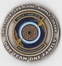 """647 LRS Commander Air Force  Challenge Coin 1.75 """" DIA C-2"""