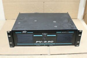Peavey PV-8.5c 2-Channel Professional Stereo Power Amplifier
