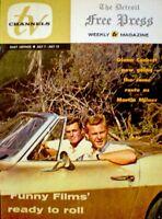 TV Guide 1963 Route 66 Glenn Corbett Martin Milner Regional TV Channels NM COA