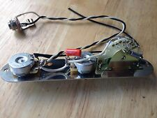 Reverse Telecaster Wiring Harness Fender CTS Pots CRL Orange Drop Treble Bleed