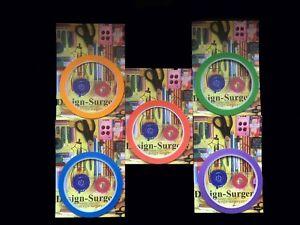 Draping Tape-Marking-Pattern-Design-Red-Green-Yellow-Purple-Blue-Design-Surgery®