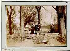 France, Fronsac (Gironde), Le Parc  Vintage citrate print.  Tirage citrate