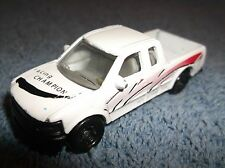 "RACING CHAMPIONS 3"" WHITE CHEVY SILVERADO PICKUP TRUCK TOY DIECAST VEHICLE"