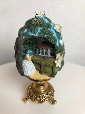 GONE WITH THE WIND ~ FRANKLIN MINT PORCELAIN EGG ~ SCARLETT OF TARA BRAND NEW