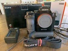 Sony Alpha A7R Full Frame Mirrorless Camera E-Mount 36.4 MP w/ Sony Battery Grip