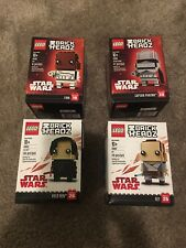 Lego Brickheadz Rey, Kylo, Finn, And Captain Phasma